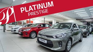 Ocenění Platinum Prestige Awards Dealer KIA 2018